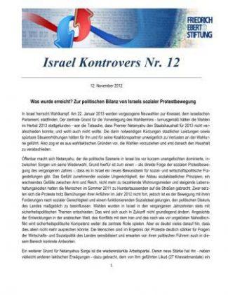 Israel Kontrovers Nr 12