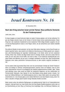 Israel Kontrovers 16