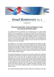 Israel Kontrovers Nr 4