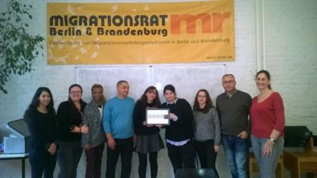 Meeting with representatives of the Migration-Council Berlin Brandenburg