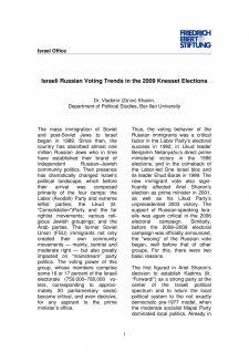 Russian Voting Trends