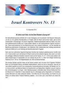 Israel Kontrovers Nr 13