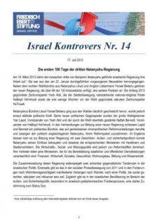 Israel Kontrovers Nr 14